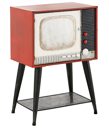 Home affaire Kommode »Retro TV«, Breite 46 cm - bunt