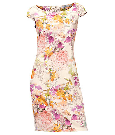 ASHLEY BROOKE by Heine Druckkleid Blumen - bunt - 3434