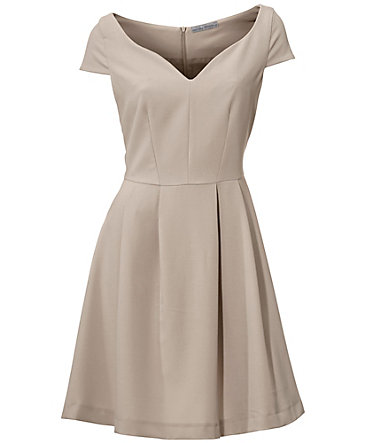 ASHLEY BROOKE by Heine Prinzesskleid  - taupe - 3434