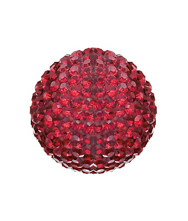 Engelsrufer Klangkugel »Bright like a diamond, ROT CRYSTAL, ERS-55-ZI« - rot - L(20)0