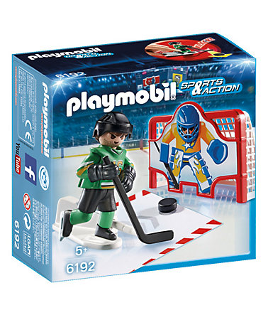 Playmobil® Eishockey-Tortraining (6192), Sports & Action -