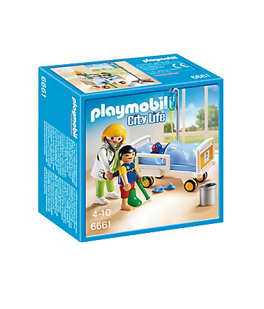 Playmobil® Ärztin am Kinderkrankenbett (6661), City Life -