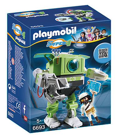 Playmobil® Cleano-Roboter (6693), Super 4® -