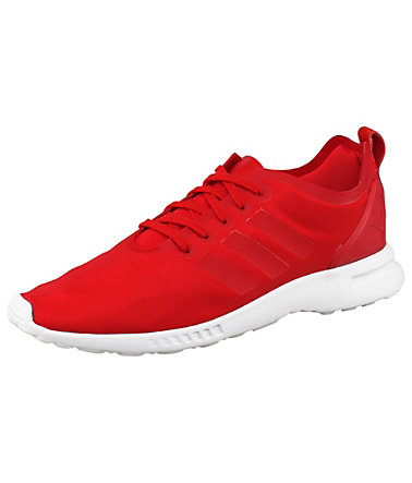 adidas Originals ZX Flux Smooth W Sneaker - Rot - 3939 - Normalgrößen