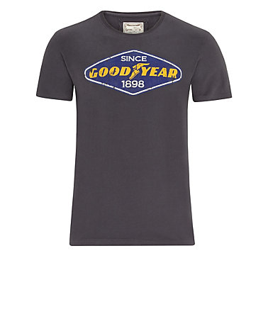 Goodyear T-Shirt »EAST LAKE« - ConcreteGrey - L0