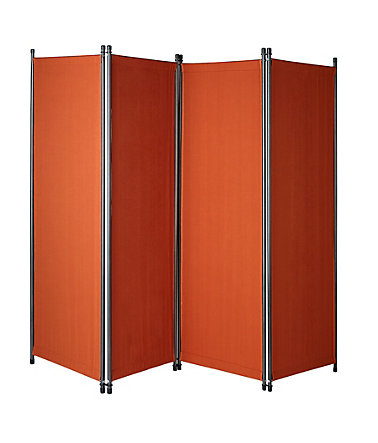 Paravent »Swingtex«, (H/B): ca 165x220 cm - terracotta