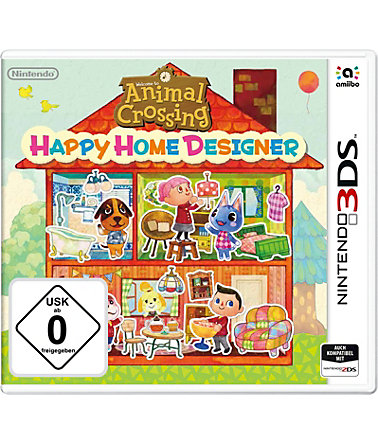 Animal Crossing: Happy Home Designer Nintendo 3DS -