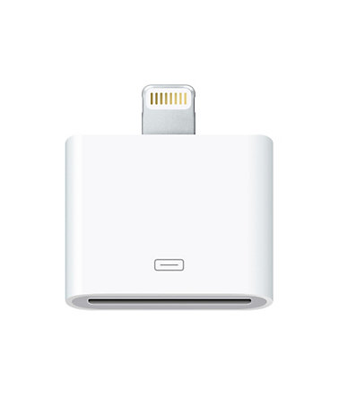 Apple Netzteil »Lightning to 30-polig Adapter - MD823ZM/A« -