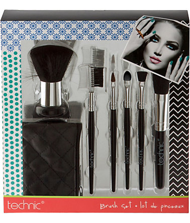 »Cosmetic Brush Set«, Kosmetikpinsel-Set - 7-tlg.Set