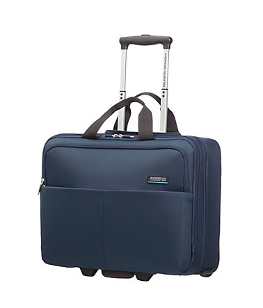 American Tourister Businesskoffer mit 2 Rollen, »ATLANTA HEIGHTS ROLLING TOTE« - navy(blau)