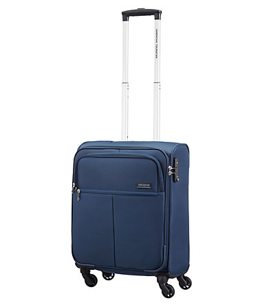 American Tourister Trolley mit 4 Rollen Laptopfach, »Atlanta Heights« - navyblue - 5555