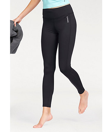 Reebok Leggings »WORKOUT READY PANT PROGRAM« - schwarz - L(42/44)0 - Normalgrößen