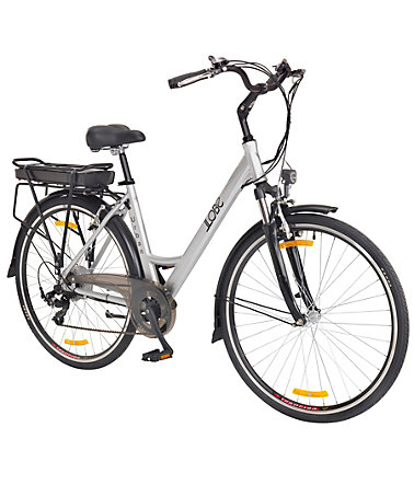 LLOBE E-Bike City Damen »Urban «, 28 Zoll, 7 Gang, Heckmotor, 360 Wh - 49cm