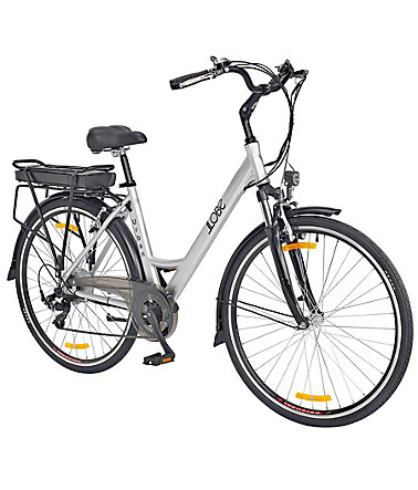 Llobe E-Bike City Damen »Urban «, 28 Zoll, 7 Gang, Heckmotor, 192 Wh - 49cm