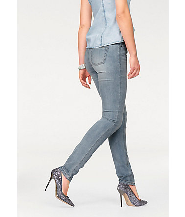 Arizona Skinny-fit-Jeans »Shaping« - bleached - 3434 - Normalgrößen