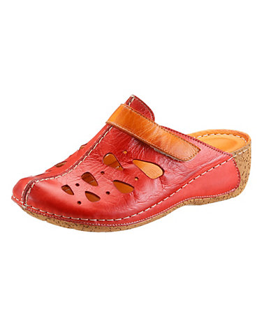 Hush Puppies Clog - rot-orange - 3636