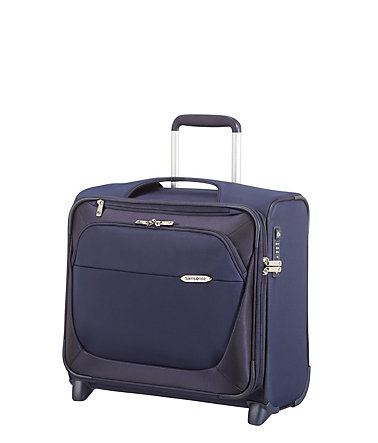 Samsonite Businesstrolley mit 2 Rollen und 17-Zoll Laptopfach, »B-Lite 3« - darkblue
