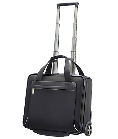 Samsonite Businesstrolley mit 2 Rollen, Tablet- und 15,6-Zoll Laptopfach, »Spectrolite« - schwarz