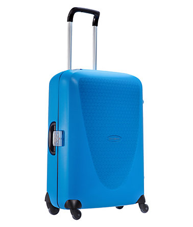 Samsonite Hartschalen Trolley mit 4 Rollen, »Termo Young Spinner« - electricblue - 7070