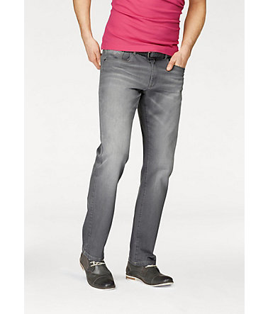Rhode Island Stretch-Jeans »Reed« - grey-used - 3333 - Länge36