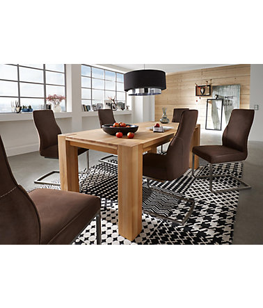 Esstisch, Premium collection by Home affaire, »Big Beech« - kernbuche - ohneAufbauservice - 160/90cm