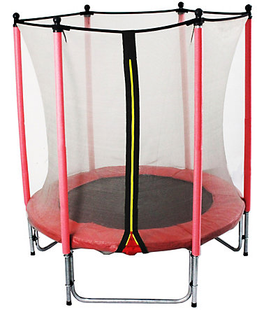 Joka Fit Kindertrampolin Sport, Ø 140 cm - rot