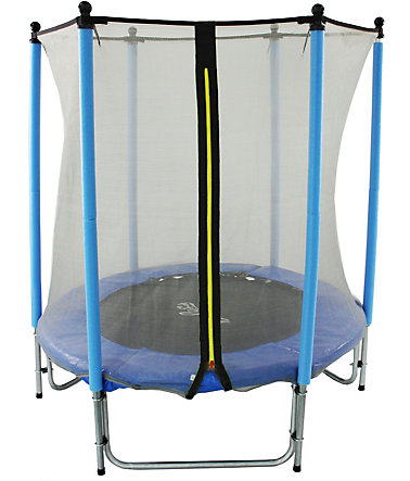 Joka Fit Kindertrampolin Sport, Ø 140 cm - blau