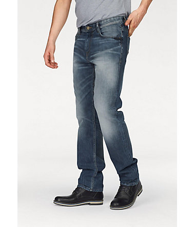 Tom Tailor Straight-Jeans »Marvin« - stone-washed - 3131 - Länge34