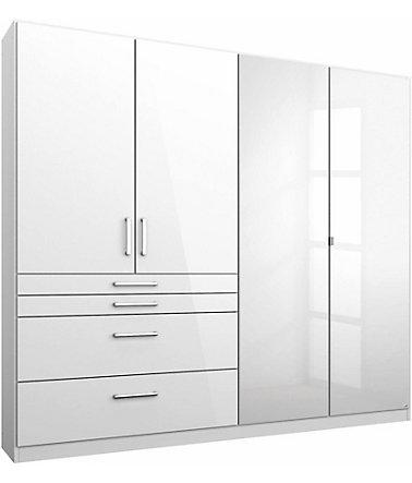 rauch pack s kleiderschrank mit spiegel schr nke. Black Bedroom Furniture Sets. Home Design Ideas