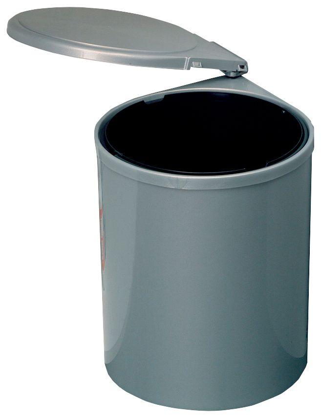Einbau-Abfalleimer Mit Türautomatik, Rund | Schwab Versand