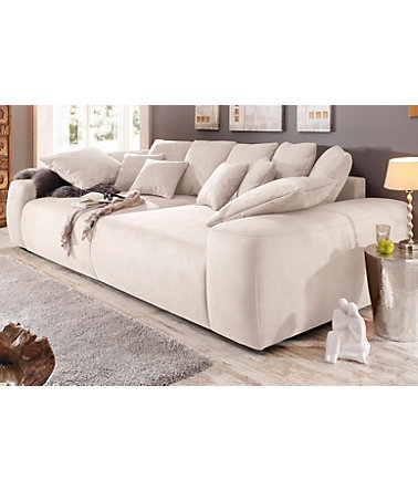 Home affaire Big-Sofa, Breite 302 cm - 1(=natur) - MicrofaserPRIMABELLE®
