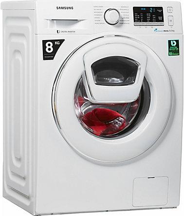 samsung waschmaschine ww5500 addwash ww80k5400ww eg 8 kg 1400 u min frontlader. Black Bedroom Furniture Sets. Home Design Ideas