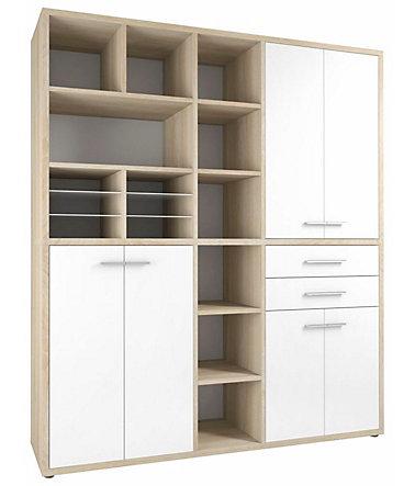 maja m bel highboard kombination set 1691 mit 15. Black Bedroom Furniture Sets. Home Design Ideas