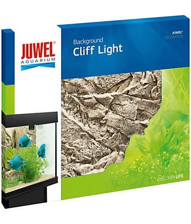 Juwel Aquarium-Rückwand »Cliff Light«, hellgrau -
