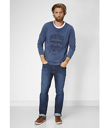 PADDOCK'S Stretch Jeans »RANGER« - blue/darkstone - 3333 - 36