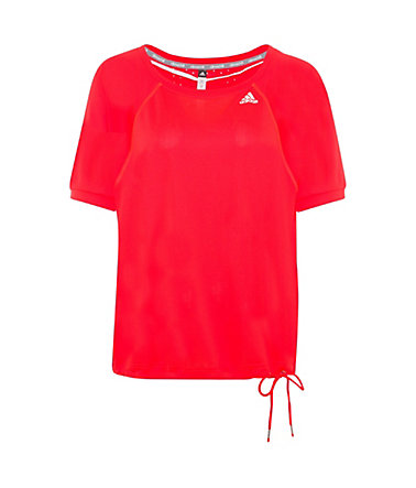 adidas Performance ClimaChill Loose Trainingsshirt Damen - rot - L-42/440