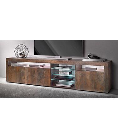 borchardt m bel lowboard breite 200 cm lowboards. Black Bedroom Furniture Sets. Home Design Ideas