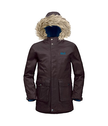 Jack Wolfskin Outdoorparka »RHODE ISLAND PARKA BOYS« 2 teilig - ground - 128128
