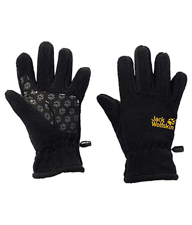 Jack Wolfskin Fleecehandschuhe »FLEECE GLOVE KIDS« - schwarz - 116116