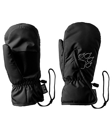 Jack Wolfskin Fäustlinge »EASY ENTRY MITTEN KIDS« - black - 104104