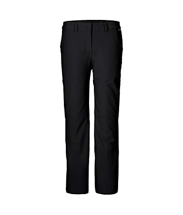 Jack Wolfskin Softshellhose »ACTIVATE WINTER PANTS WOMEN« - black - 4040