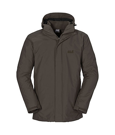 Jack Wolfskin Outdoorjacke »ICELAND 3IN1 MEN« 2 teilig - olivebrown - L(50/52)0