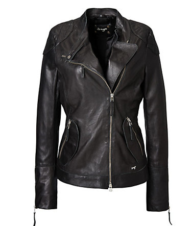 MAZE Lederjacke, Damen »Dallas« - black - L0