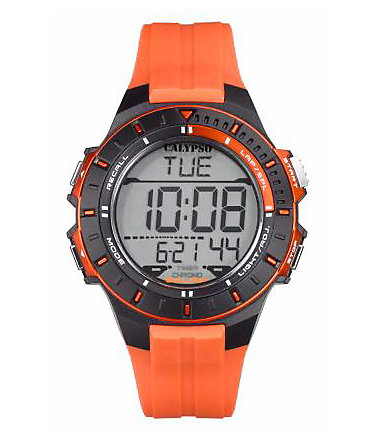 CALYPSO WATCHES Chronograph »K5607/1« - orange