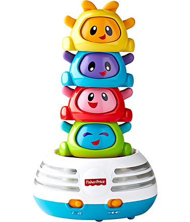 Fisher Price Kinderlernspiel, »Musikspaß Pyramide Bright Beats« -