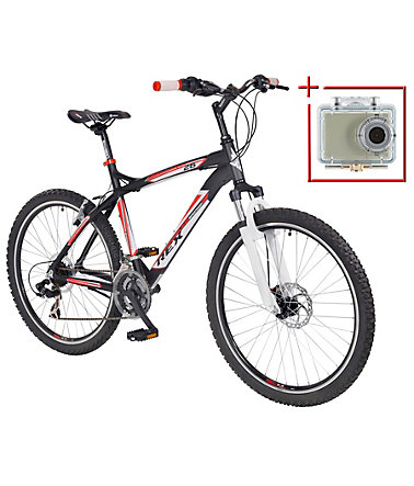 PROPHETE Mountainbike »Bergsteiger 6.2«, 26 Zoll, SHIMANO 21 Gang, inkl. Action-Cam - 50cm