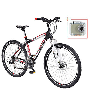 Prophete Mountainbike »Bergsteiger 630«, 29 Zoll, SHIMANO 21 Gang, Inkl. Action-Cam - 50cm