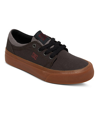 DC Shoes Low top »Trase TX« - Grey/grey/red - 1(32)1