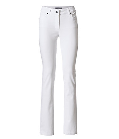 ASHLEY BROOKE by Heine Bodyform-Röhrenjeans High-Stretch - weiß - 3434 - Normal-Größen
