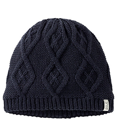 Jack Wolfskin Strickmütze »PLAIT CAP WOMEN« - nightblue - M0